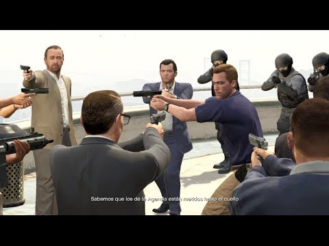 GTA V Matanza FBI ATANDO CABOS Regreso Trevor Grand Theft Auto 5 GTA 5 PARTE 56