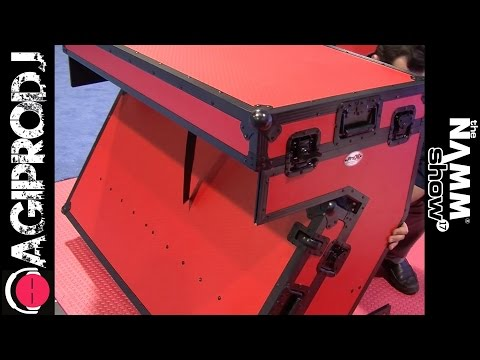 PROX Z-TABLE PORTABLE DJ BOOTH | NAMM.17 - agiprodj.com