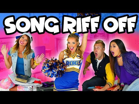 Singing Riff-Off Challenge with Pop Music High. Totally TV