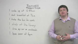 English Grammar - Present Simple tense