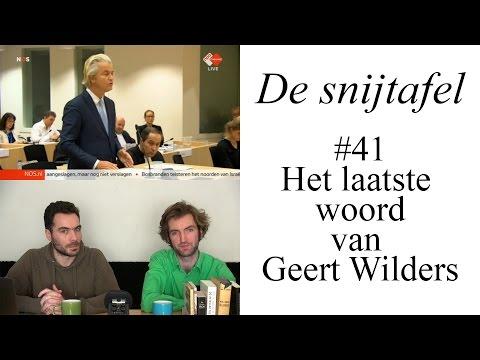 De snijtafel - Het laatste woord van Geert Wilders (#41)