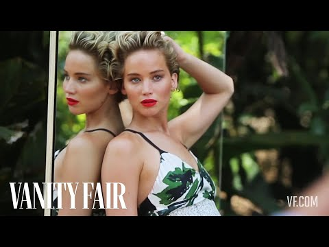 Jennifer Lawrence Makes a Splash for Her Cover Shoot