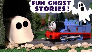 Thomas and Friends Fun Spooky Ghost Stories with Play Doh and Paw Patrol - Train Toys for kids TT4U