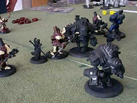 Warmachine Battle Report 1  Khador v Protectorate A video I did A LONG    Protectorate Definition