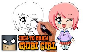 How to Draw Chibi Girl | Drawing Tutorial