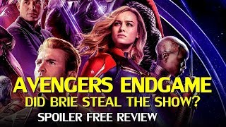 Avengers Endgame Review – Does Captain Marvel hijack the movie? (No Spoilers)