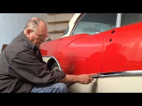 1956 Buick - Installing the Chrome Trim