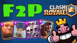Clash Royale | MY TOP 3 F2P DECKS FOR ARENA 6, 7, 8, 9 + SCROLL STORY