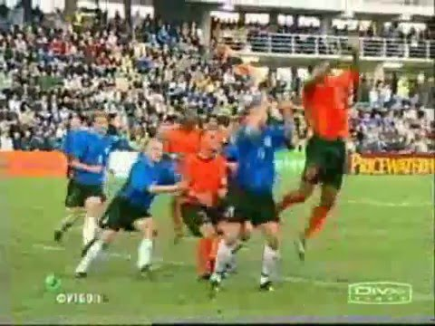 Kluivert goals for Holland