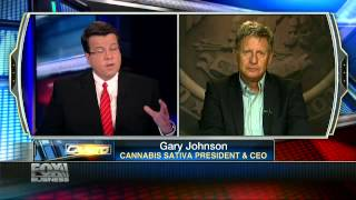 Gary Johnson: I've Espoused Legalizing Marijuana Since 1999