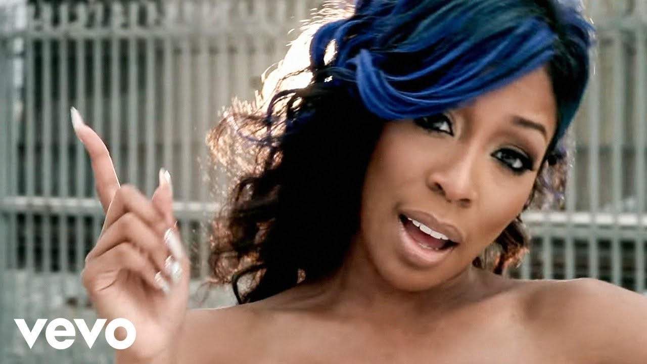 K Michelle Blue Hair K  Michelle - How Many Times