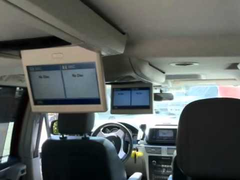 2010 VOLKSWAGEN ROUTAN 4DR MINIVAN NAVIGATION DUAL SCREEN DVD BLUETOOTH - YouTube