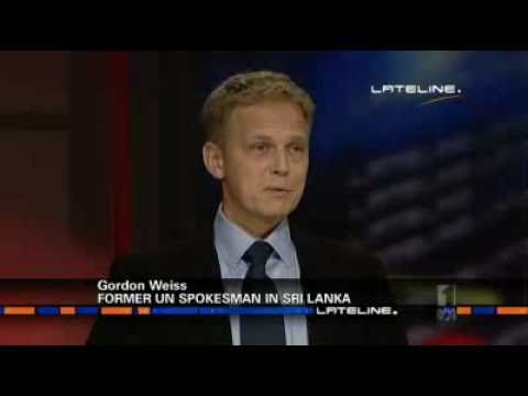 GORDON WEISS, FORMER UN SPOKESMAN IN SRI LANKA - Interview with ABC  April 26, 2011