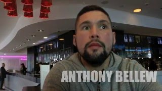 TONY BELLEW (& MRS) ON HIS FUTURE, TALKS CREED MOVIE, KOVALEV & RIPS INTO DRUG CHEATS KILLING BOXING