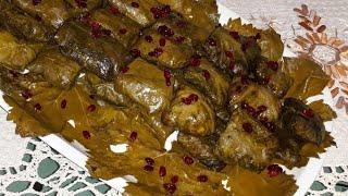 آموزش دلمه برگ مو مجلسي توسط پروانه جواد خواهر جوادجوادي