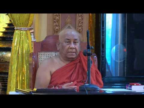 Sitagu Sayadaw Lecture in Yangon (5.12.2015)