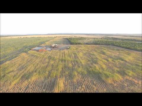 drilling rig south of merkel tx