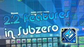 Geometry Dash 2.2 Features and Bugs! (from Subzero)