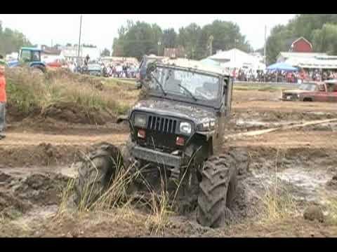 4x4 Mud Trucks getting Stuck in The Mudpits TheOutlawVideoSS
