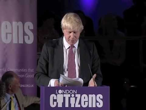 Boris Johnson speaks about Community Land Trust