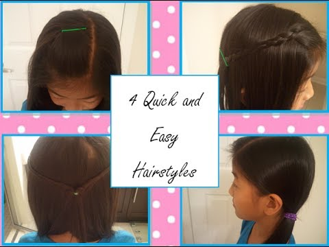 4 Quick and Easy Everyday Hairstyles -GlamGirl