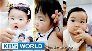 Joy & Seoheun & Haeun's House - Three Princesses' Hair Change [The Return of Superman / 2016.10.02]