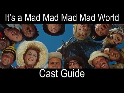 It's a Mad Mad World Cast Guide