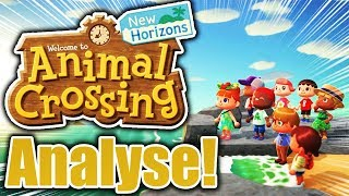 Trailer ANALYSIS too Animal Crossing New Horizons! | Piuus