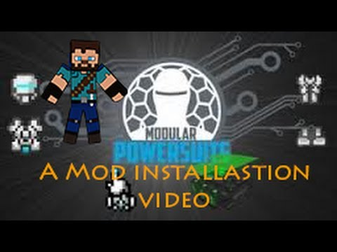Minecraft: How to install MachineMuse Modular PowerSuit for Minecraft 1.5 (PowerArmor Mod)