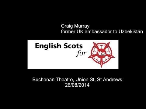 Craig Murray, former UK ambassador to Uzbekistan