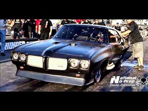 Big Chief vs Gaston's Nitrous pickup at the Memphis Street Outlaws No Prep