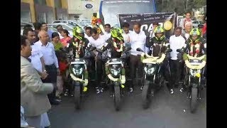 Women bikers to cover 17000 km across 7 nations | Visakhapatnam