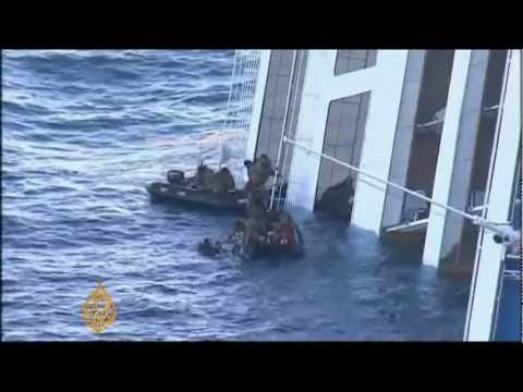 Captain of wrecked Italian ship under house arrest