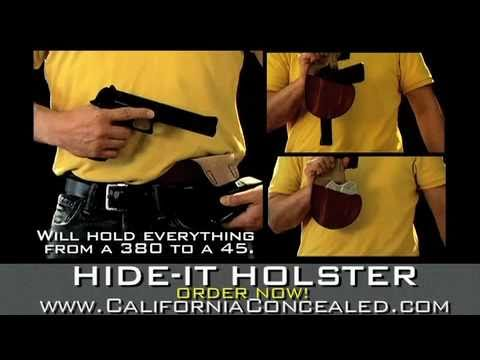 Concealed Carry Holsters: HIDE-IT & GRIP-IT