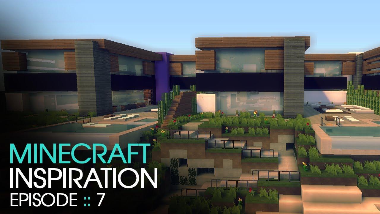 Minecraft Inspiration w/ Keralis :: Modern Townhouses ...