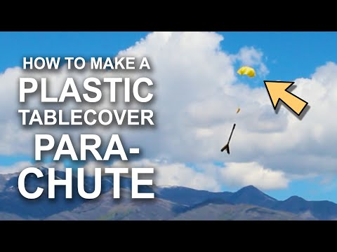 Plastic Tablecover Parachutes