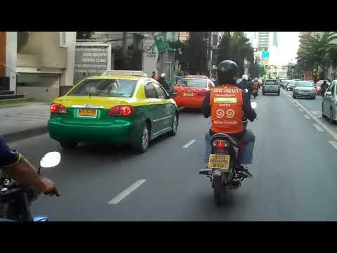 AvivaCam ; Moto-taxi ride ; Bangkok.