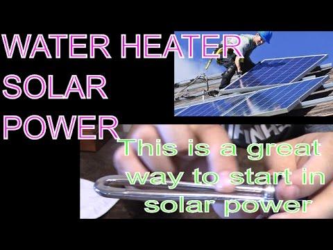 24 Volt DC Solar Power Submersible Water Heater Elements - Low Voltage