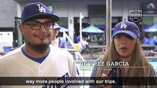 PANTONE 294: Los Angeles Dodgers Super Fans