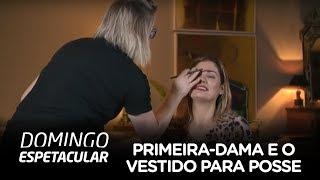 Estilista vaza pista sobre vestido de Michelle Bolsonaro para posse