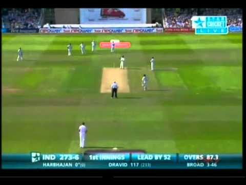 Stuart Broad Test Hattrick Vs India