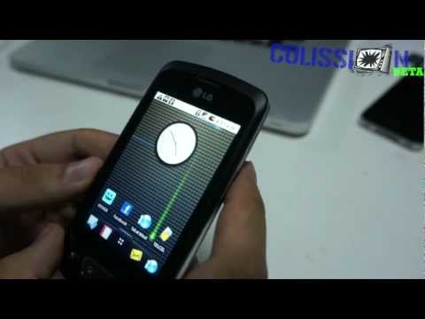 Unboxing LG Optimus One - P500h