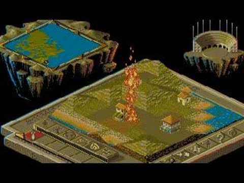 Populous 2 - Amiga version random play