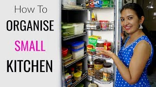 (19.7 MB) How To Organise SMALL Kitchen | Kitchen Tour | CookWithNisha Mp3