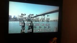 友達にアヴリル・ラヴィーンのROCK N ROLLを歌ってもらった