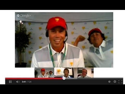 Presidents Cup Hangouts: Matt Kuchar and Jason Dufner