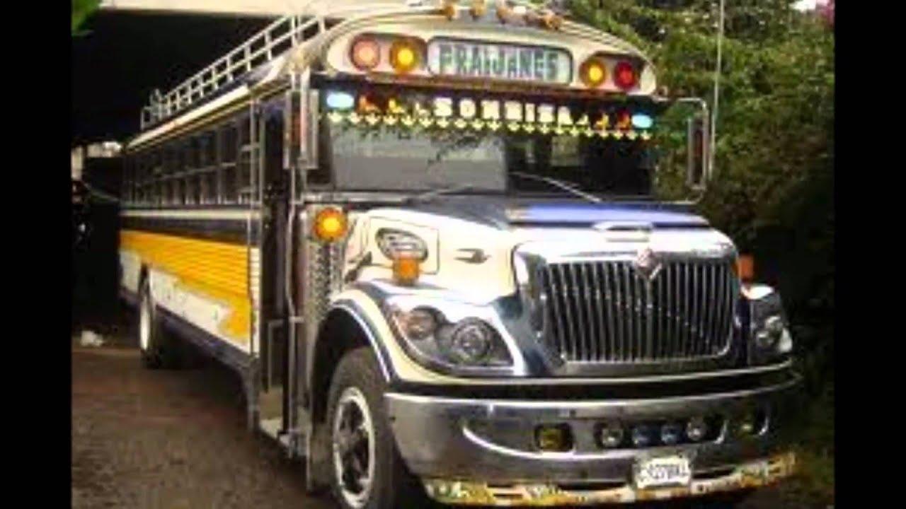 Camionetas En Venta >> buses de guatemala from central america GUATEMALA BUS - YouTube
