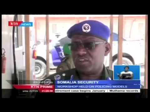Somali police force develops new policing model to promote its structures and operations