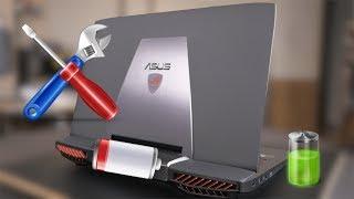Asus ROG G751jy replacing battery