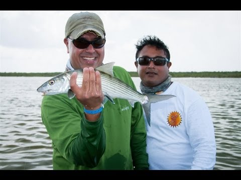Bonefish Fly Fishing Cozumel, Mexico